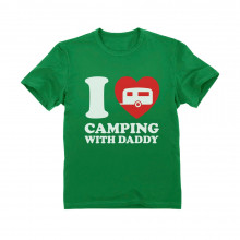 I Love Camping With Daddy - Children
