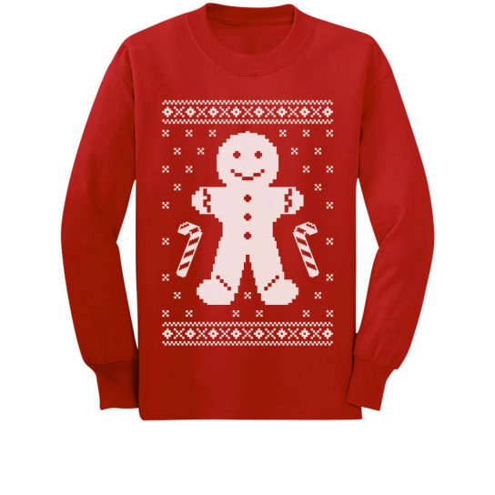 Gingerbread Cookie Man Ugly Christmas