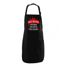 Griller Gift Idea - Grill Master The Man The Myth The Legend BBQ Chef