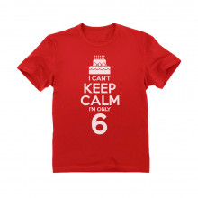 I Can't Keep Calm I'm Six
