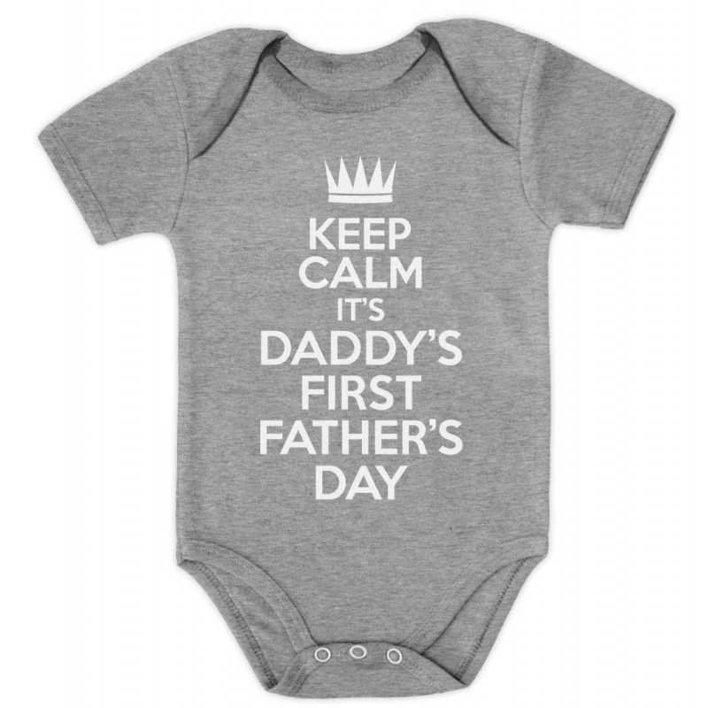 keep calm it s daddy s first father s day dad greenturtle