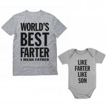 Like Farter Like Son Funny  Set