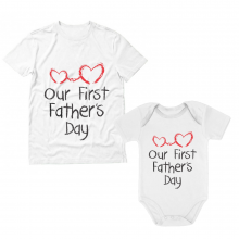 Our First Father\'s Day Cute Set