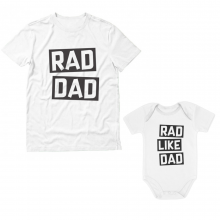 Rad Dad - Cute Funny  Gift Set