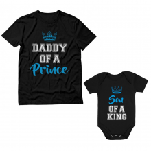 Daddy of a Prince Cute Set