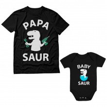 Papa Saur Cute Set