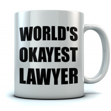 World's Okayest Lawyer Coffee
