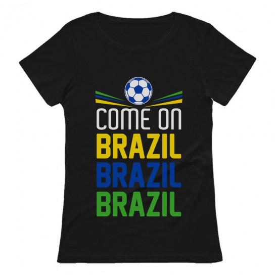 Come On Brazil Soccer Fans