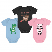 I Love Dad - Onsies Gift Set