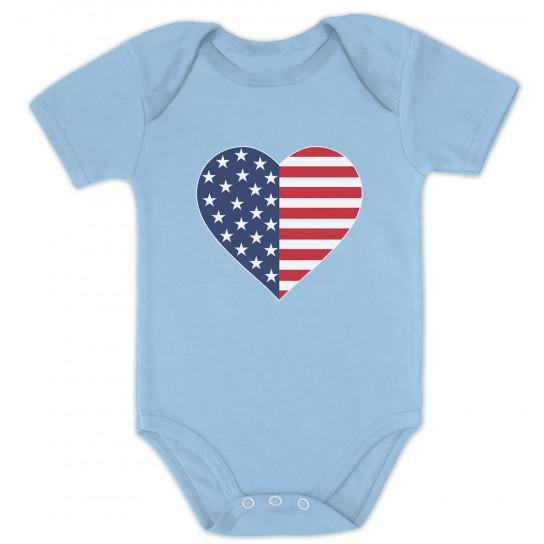 American Heart Flag Patriotic