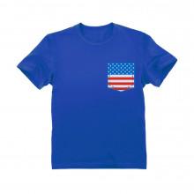 USA Flag Pocket Print