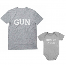 Gun & Son of a Gun - Cute  Gift Set