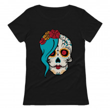 Mrs. Sugar Skull Day of The Dead Gothic