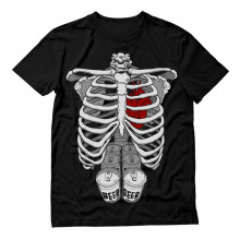 Skeleton Beer Six Pack Xray Costume