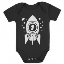 1st Birthday Space Rocket