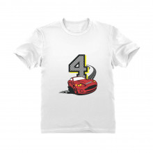 4th Birthday Race Car