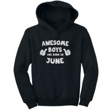 Awesome Boys Are Born In June Birthday