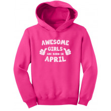 Awesome Girls Are Born In April Birthday