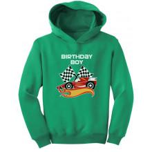 Birthday Boy Racing Car Racer Boy