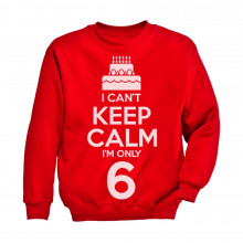 I Can't Keep Calm I'm Six