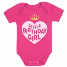 Little Birthday Girl - Heart & Crown