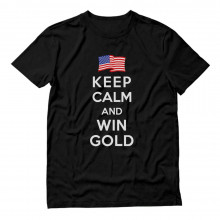 Keep Calm and Win Gold USA
