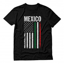 Big Mexican American Flag