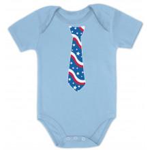 USA Flag Tie Babies