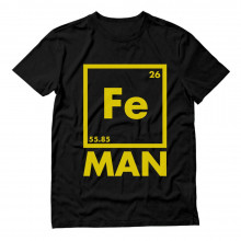 Fe Man - Funny Chemistry Periodic Iron Element