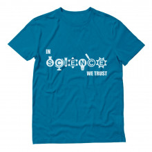 In Science We Trust - Cool Atheist Hipster Apparel