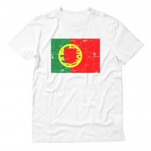 Portugal Flag Retro Style