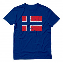Retro Norway Flag Vintage Norwegian Pride