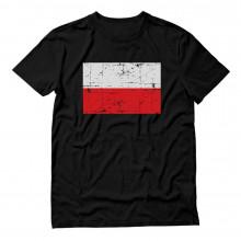 Retro Poland Flag Polska Vintage Polish Pride