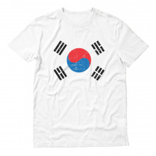 Retro South Korea Flag Vintage