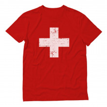Retro Switzerland Flag Vintage Swiss Pride