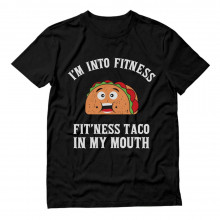Fitness Taco Funny Gym Mexican Food