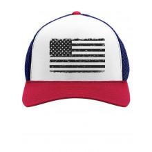 Black American Flag Cap