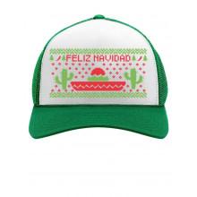 Feliz Navidad Mexican Ugly Christmas Cap