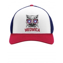 Meowica America Patriot Cat 4th of July Independence Day