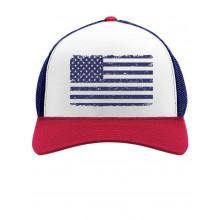 Navy American Flag Cap