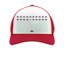 Space Geeky Xmas Invaders Ugly Christmas Hat