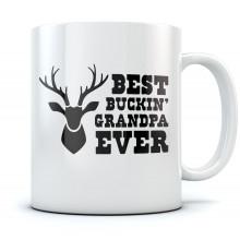 Best Buckin' Grandpa Ever Mug
