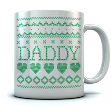 Daddy Ugly Christmas Mug
