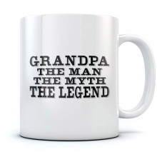 Grandpa The Man The Myth The Legend Mug