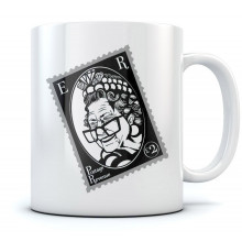 Her Majesty The Queen Stamp Mug