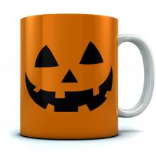 JACK O' LANTERN Pumpkin Face Halloween Mug