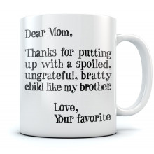 Dear Mom - Mothers Day Gift