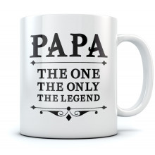 PAPA The One The Only The Legend Mug