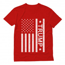 Donald Trump Vintage USA Flag
