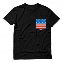 American Flag Pocket Print